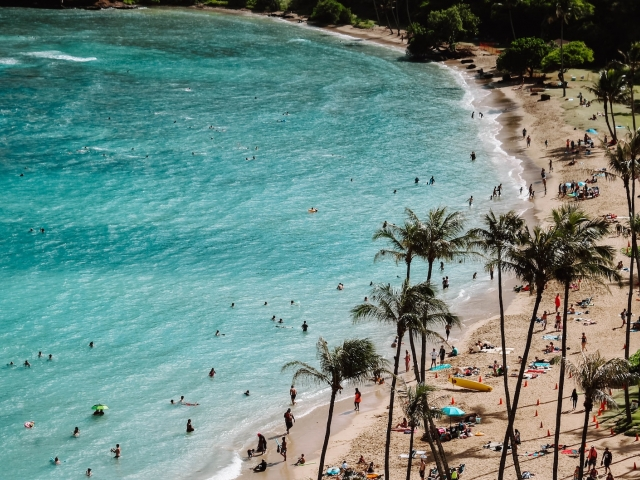 Beach in Hawaii