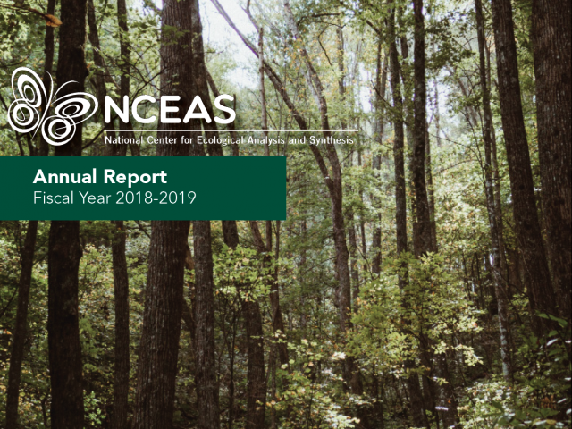 2018-2019 NCEAS Annual Report Cover